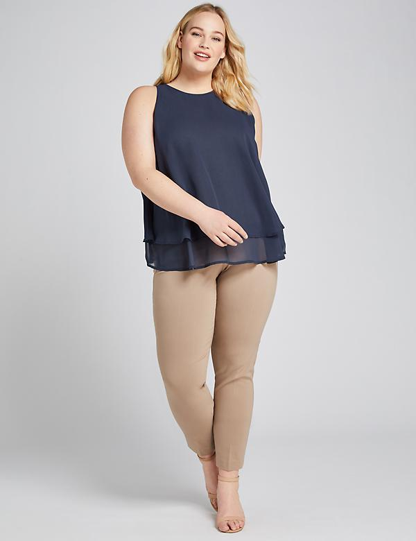Power Pockets Curvy Allie Sexy Stretch Ankle Pant