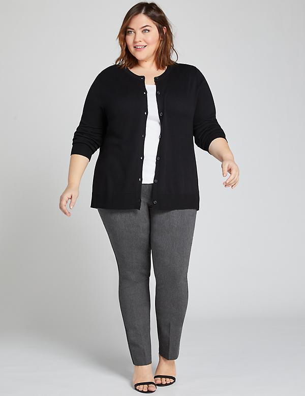 Deluxe Allie Sexy Stretch Straight Pant