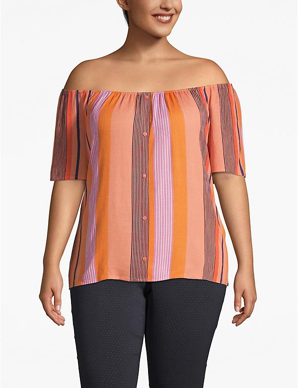 Convertible Neckline Top