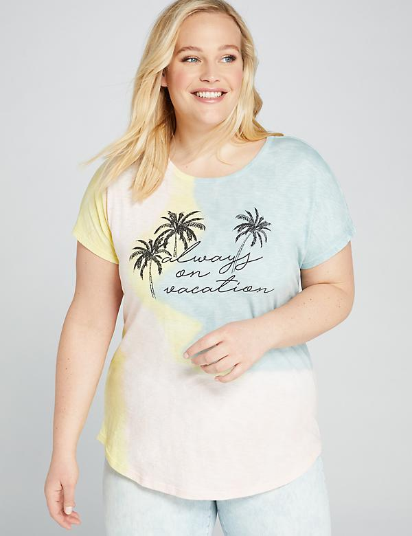 Always on Vacation Graphic Tee