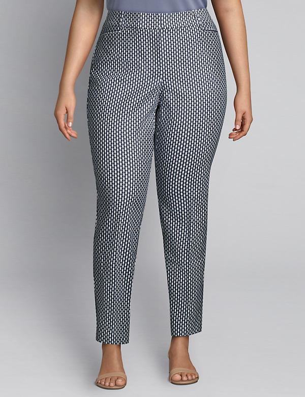Allie Modern Stretch Ankle Pant - Print