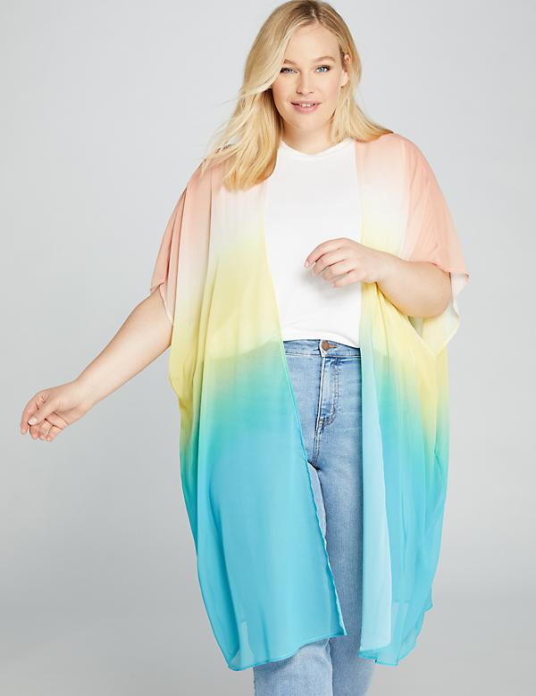Rainbow Duster Overpiece