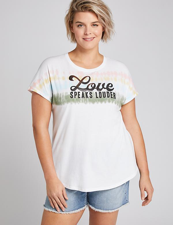 Love Speaks Louder Graphic Tee