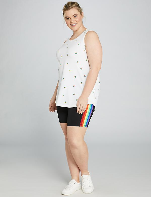 LIVI Bike Short - Rainbow Stripe