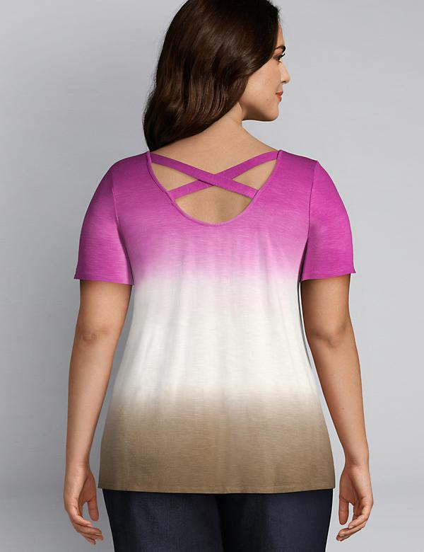 Strappy-Back Swing Tee