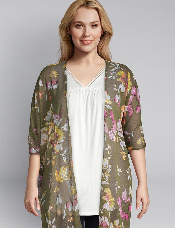 Floral Duster Overpiece