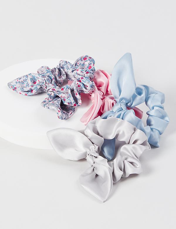Scrunchies 4-Pack - Bow