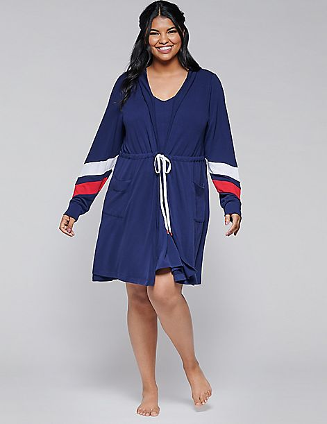 French Terry Sleep Robe