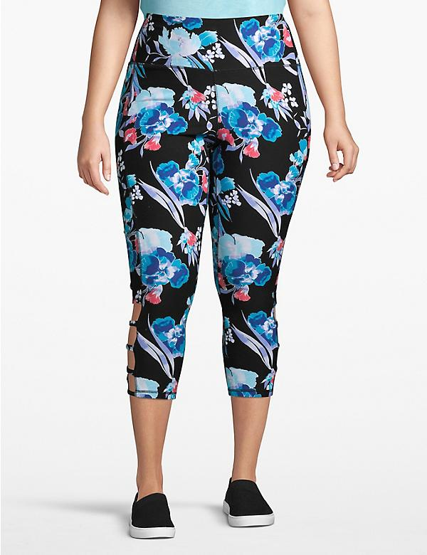 Active Capri Legging - Ladder Hem
