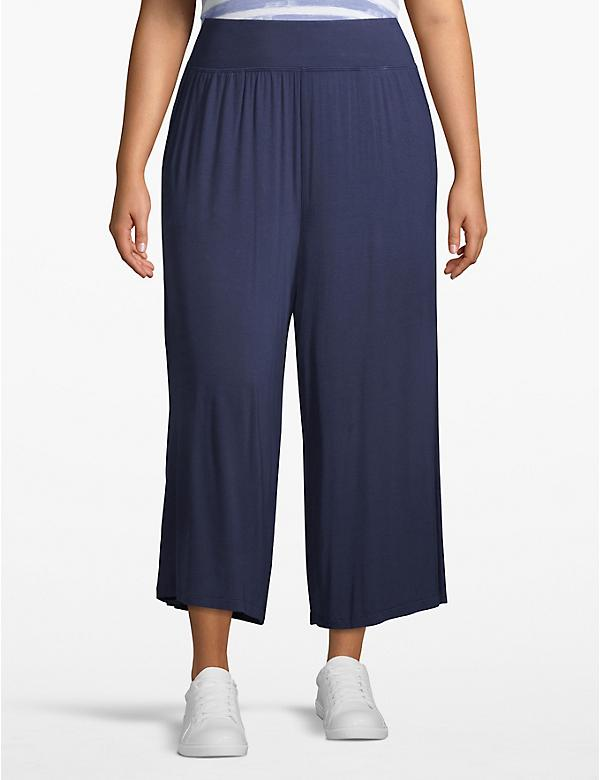 Active Wide Leg Capri