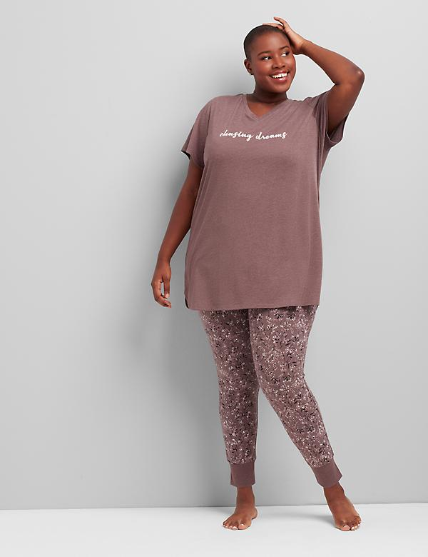 Tee & Legging PJ Set