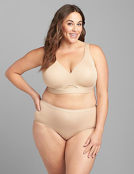 Comfort Bliss Lightly Lined No-Wire Bra