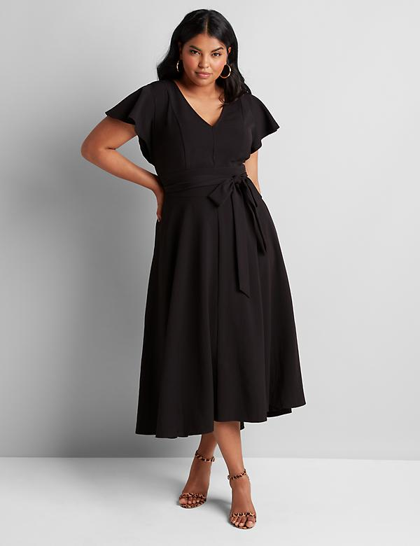 Lena High-Low Maxi Dress
