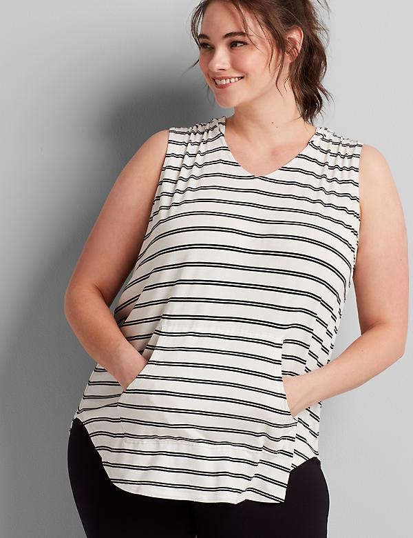 LIVI Hooded Tunic Tank