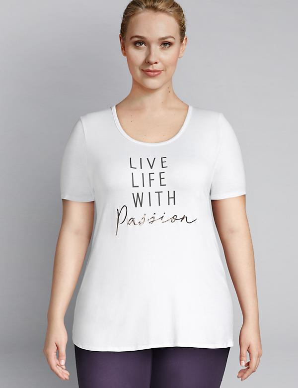 LIVI Graphic Tee - Live Life With Passion