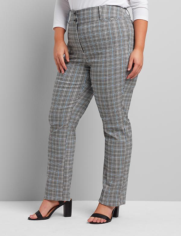 Tighter Tummy Fit High-Rise Straight Allie Pant