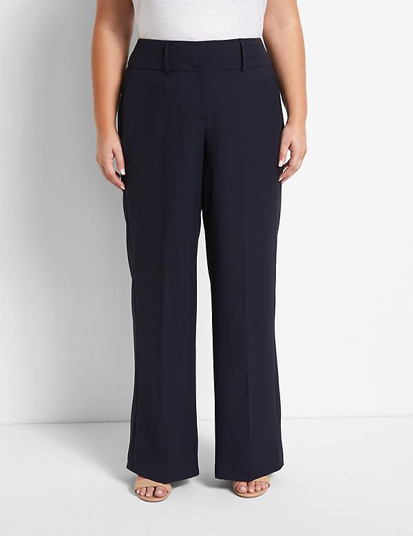 Signature Fit High-Rise Perfect Drape Wide Leg Pant