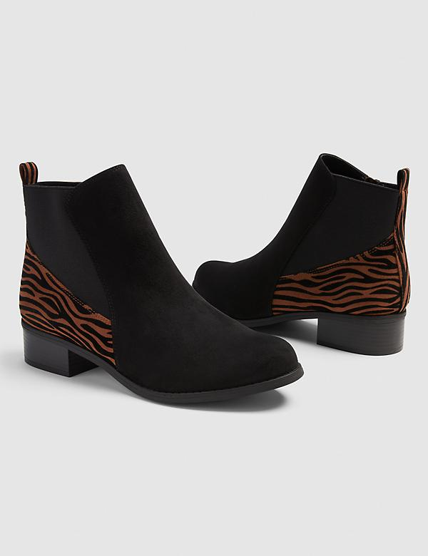 Dream Cloud Zebra Print Bootie