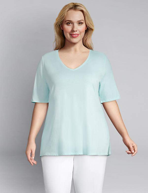 Perfect Sleeve V-Neck Tee