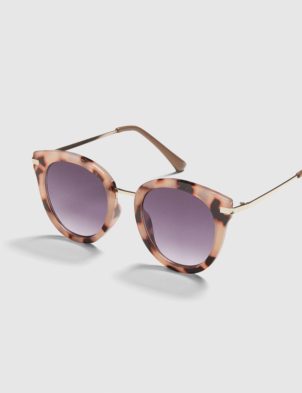 Lane Bryant Women's Resin Cateye Sunglasses Onesz Black