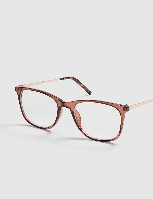 Rose Square Reading Glasses