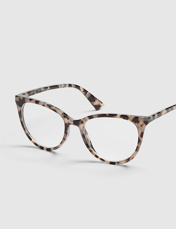 Tortoise Print Cateye Reading Glasses