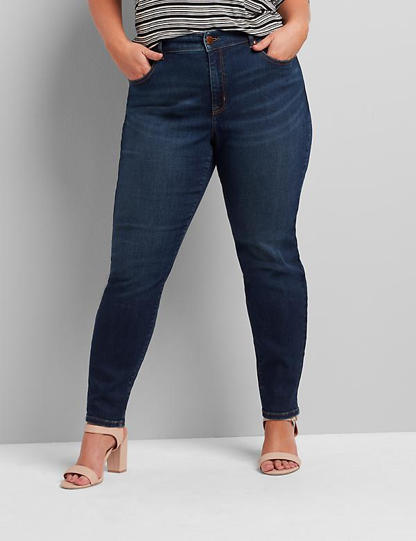 Curvy Fit High-Rise Skinny Jean - Dark Wash
