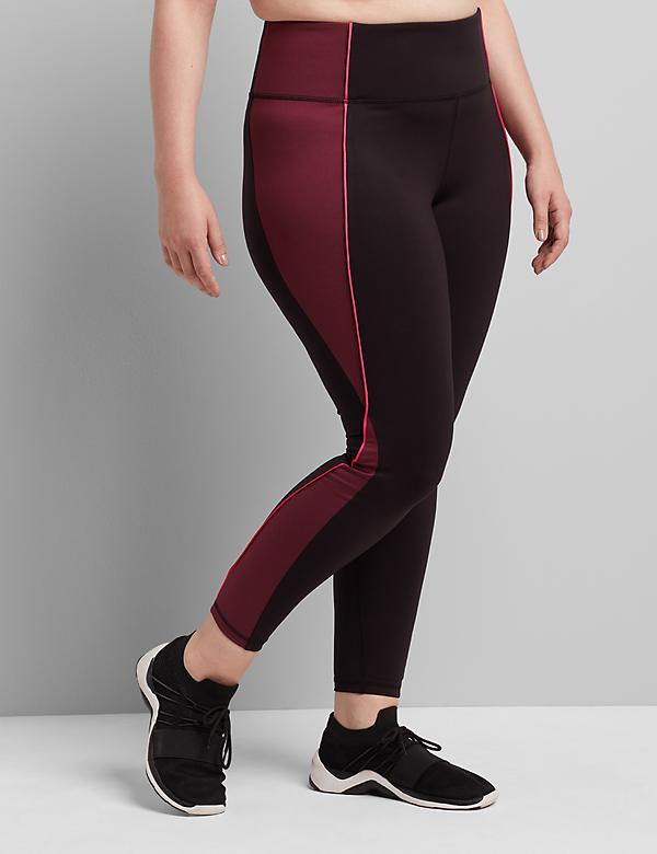LIVI 7/8 Power Legging With Wicking - Colorblock