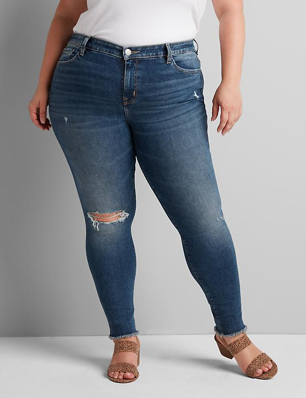 Deluxe Fit High-Rise Skinny Jean - Medium Wash