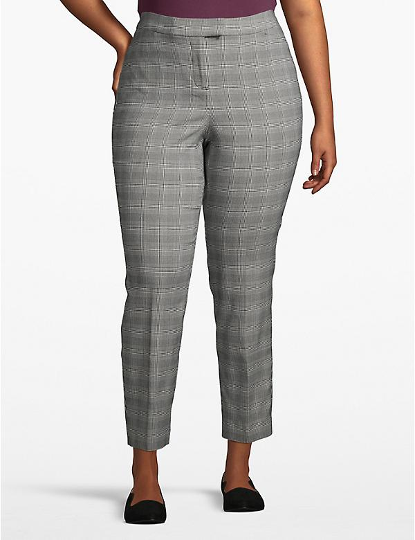Madison Ankle Pant - Plaid