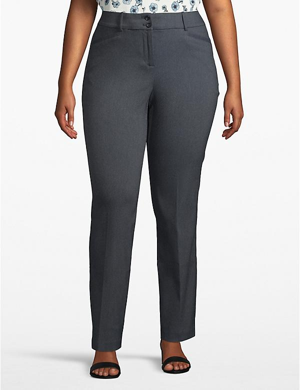 Madison Straight Pant - Textured