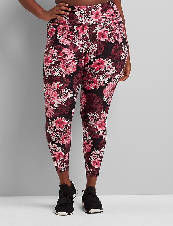 LIVI Printed 7/8 Power Legging With Wicking