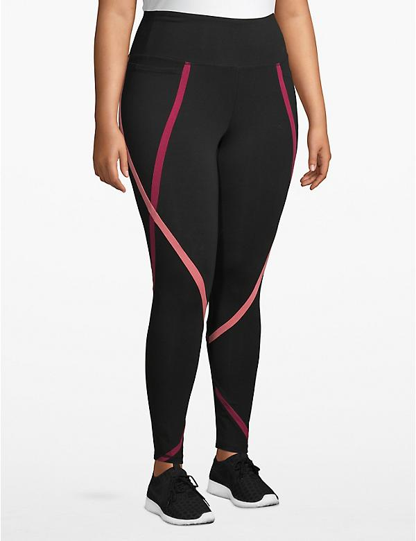 Active 7/8 Legging - Spliced Insets