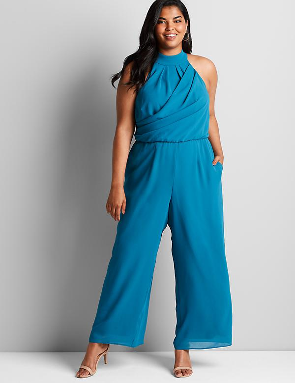 Halter-Neck Jumpsuit