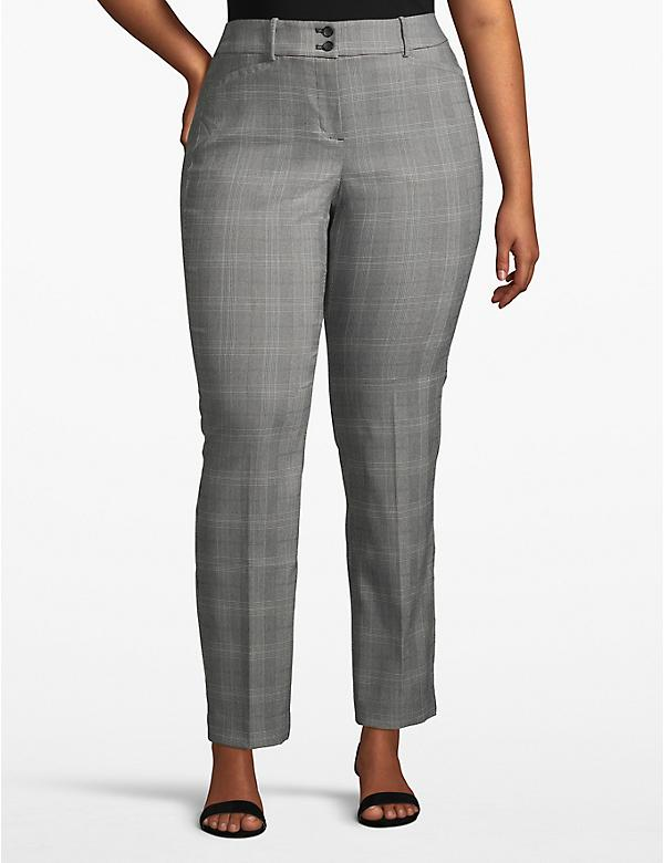 Lane Essentials Madison Straight Pant - Plaid