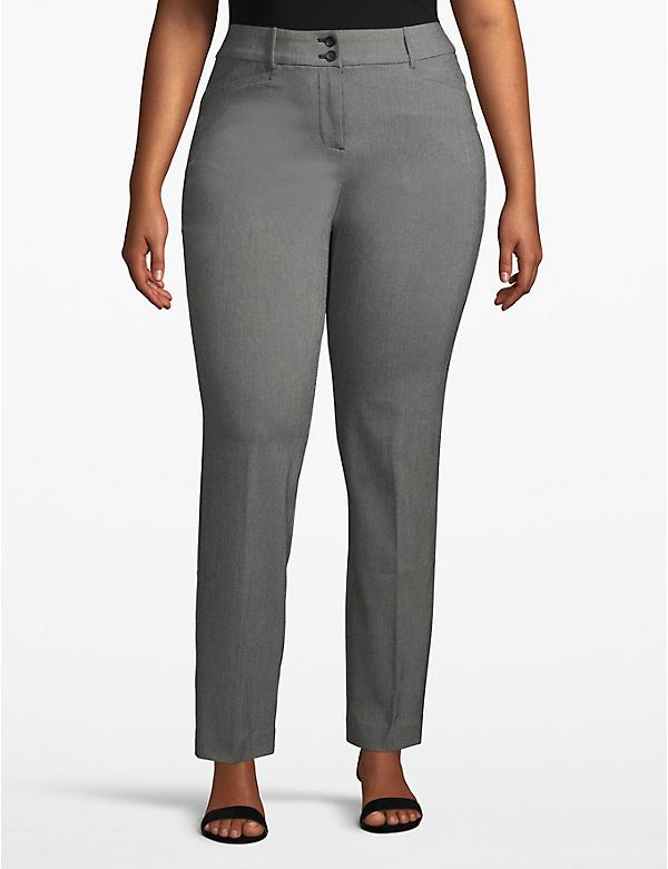 Lane Essentials Madison Straight Pant - Textured