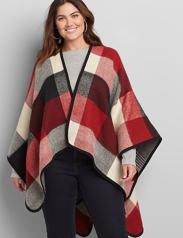 Reversible Poncho Overpiece