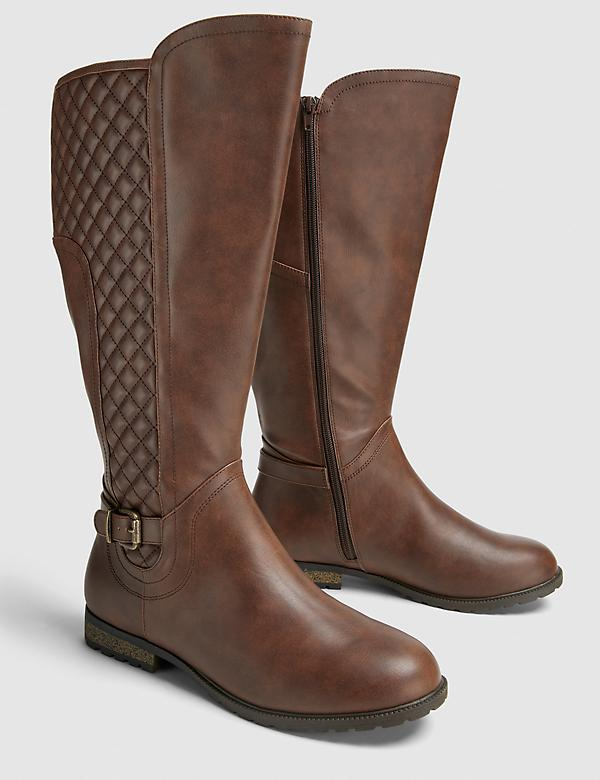 Dream Cloud Quilted Riding Boot