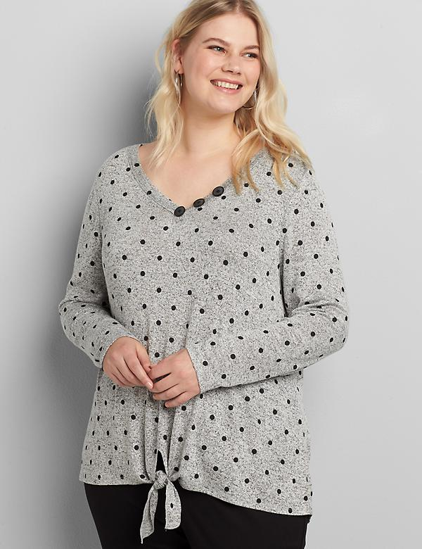 Softest Touch Tie-Front Top