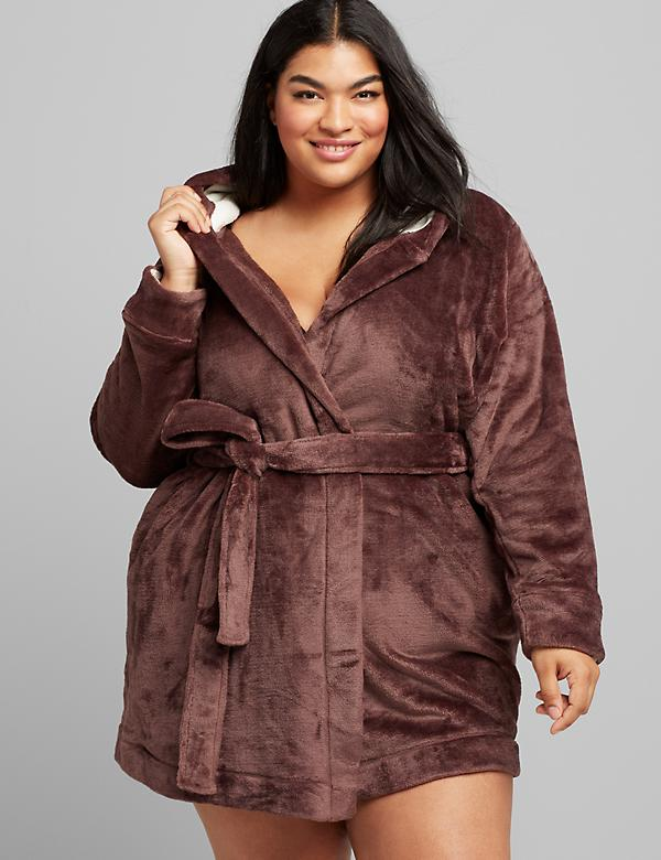 Hooded Fleece Robe