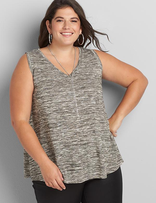 Softest Touch Shimmer Swing Tank