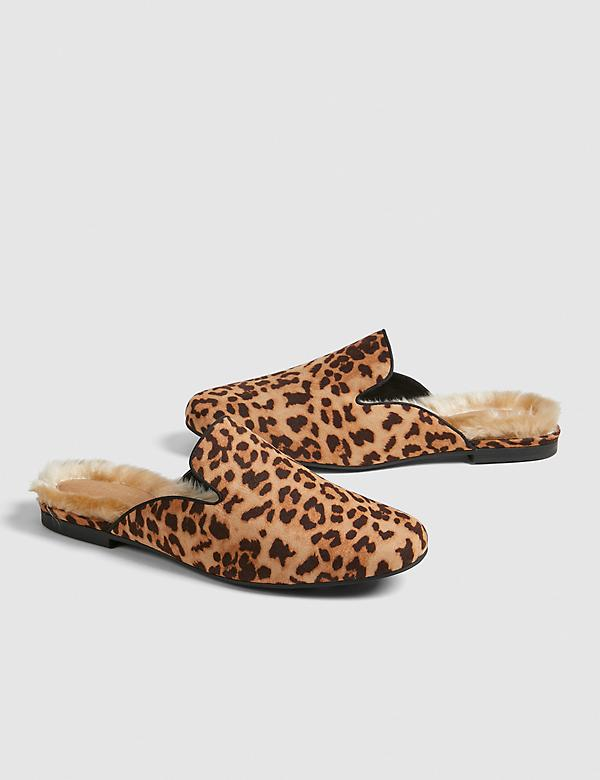 Dream Cloud Faux-Fur Mule Slide