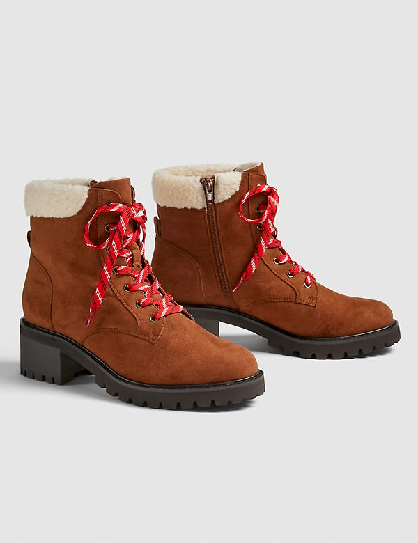Dream Cloud Lace-Up Hiker Boot
