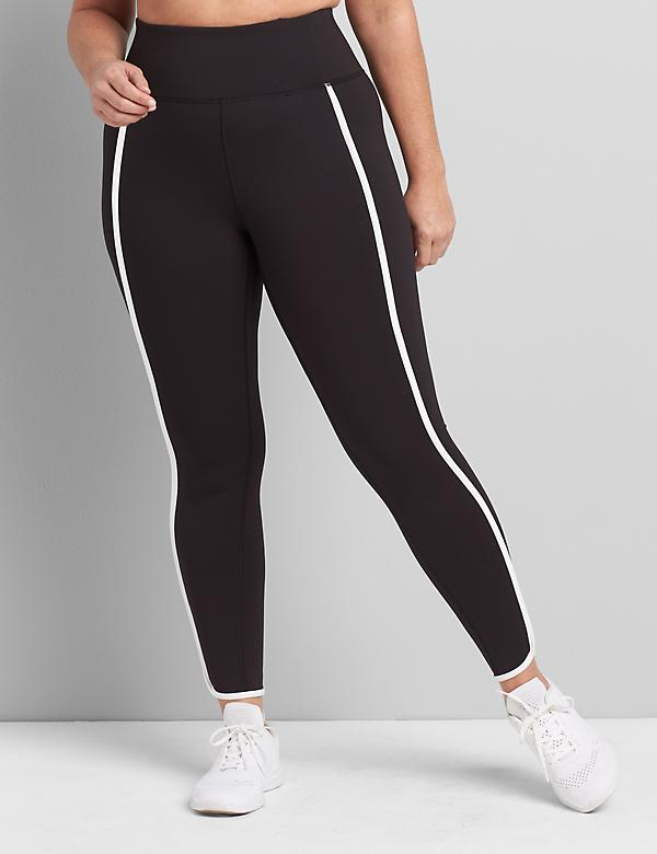 LIVI 7/8 Power Legging With Wicking - Side Piping