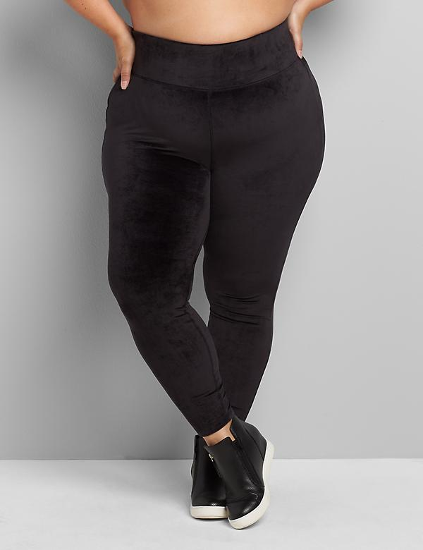 LIVI Power 7/8 Legging - Velour