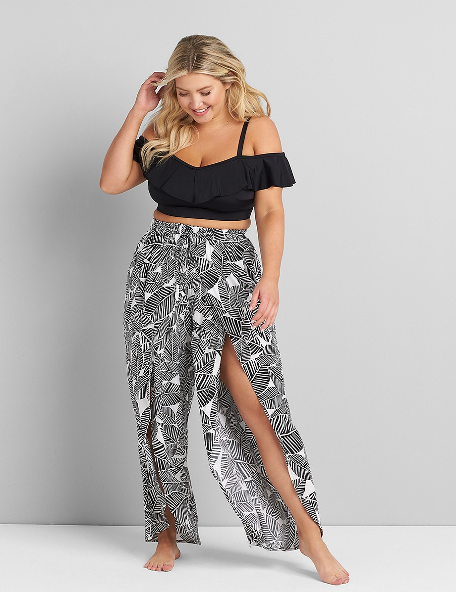 Wrap Cover-Up Pant