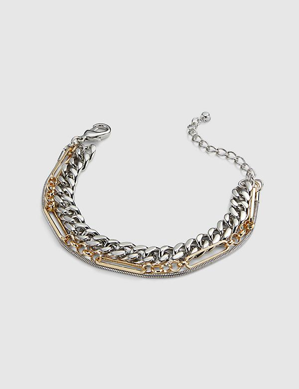 Multi-Layered Chain Bracelet