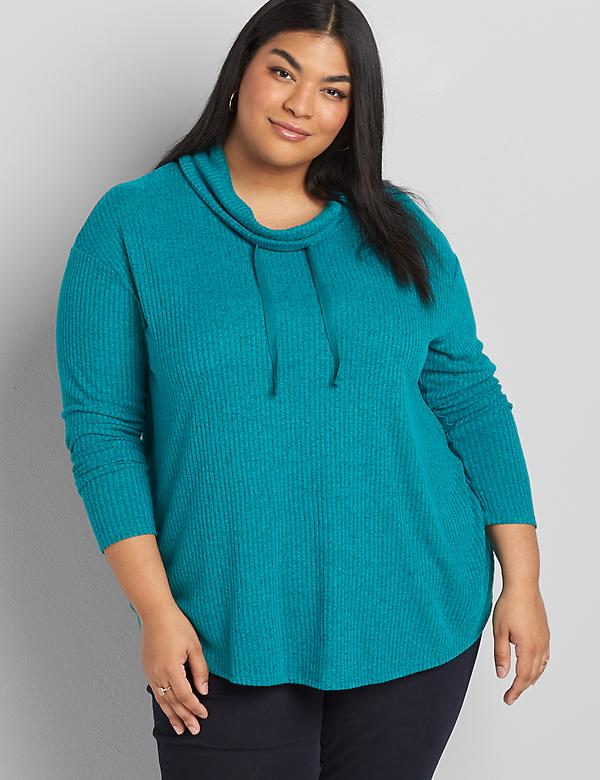 Softest Touch Ribbed Swing Top