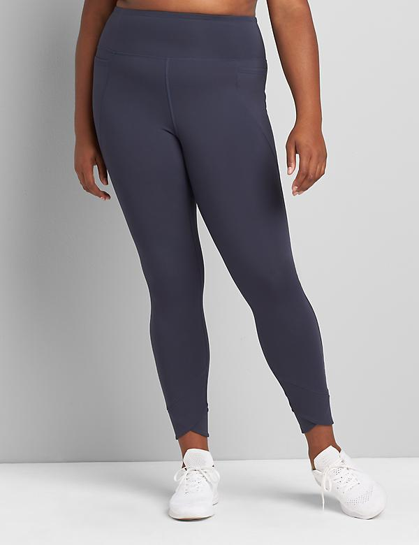 LIVI Soft 7/8 Legging - Crossover Hem