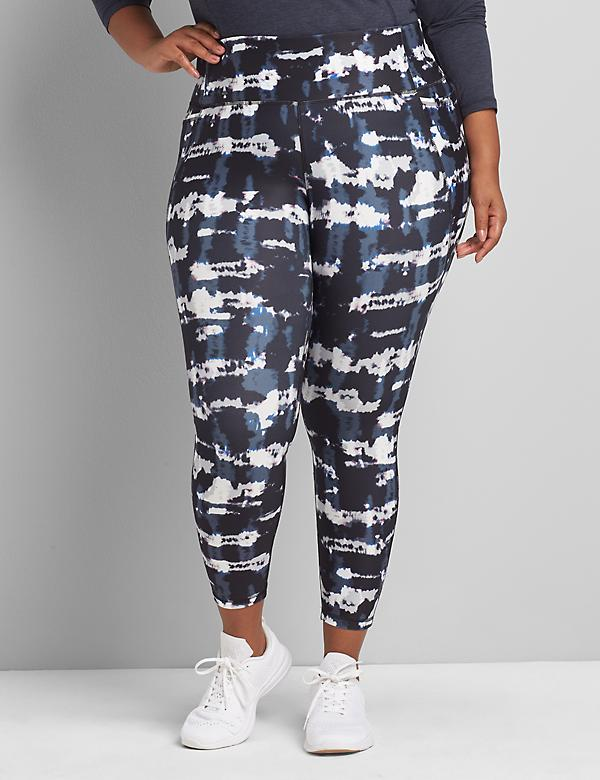 LIVI 7/8 Power Legging With Wicking - Printed